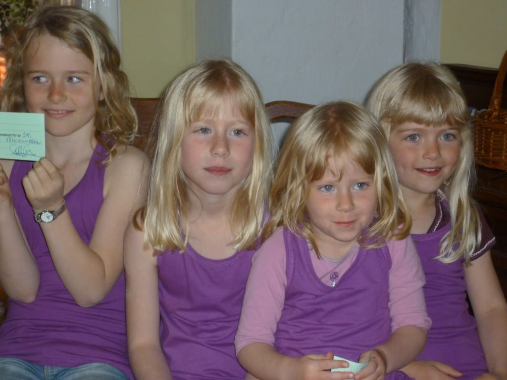Hanna, Binna, Betty, Mira