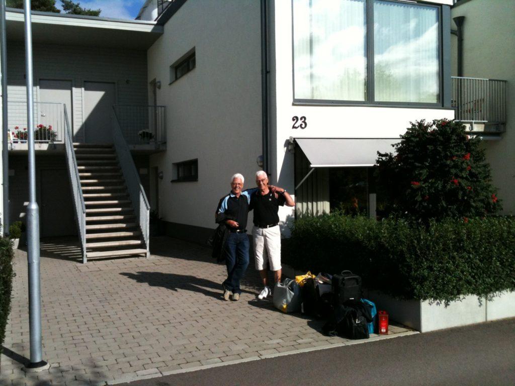 Rune och du, Roland tog fotot på golfresan